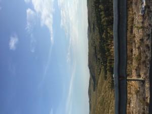 Altså, vi befinner oss egentlig i Barcelona. Men her er utsikten fra alternativ motorvei.